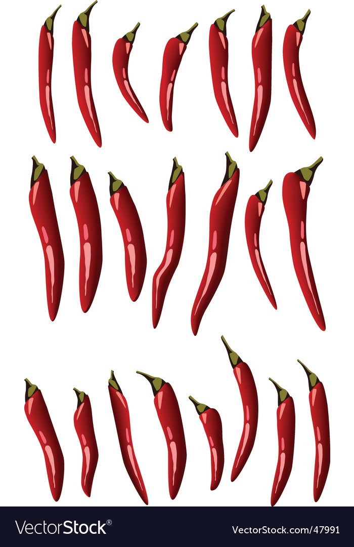 21 chillies vector   Price: 1 Credit (USD $1)