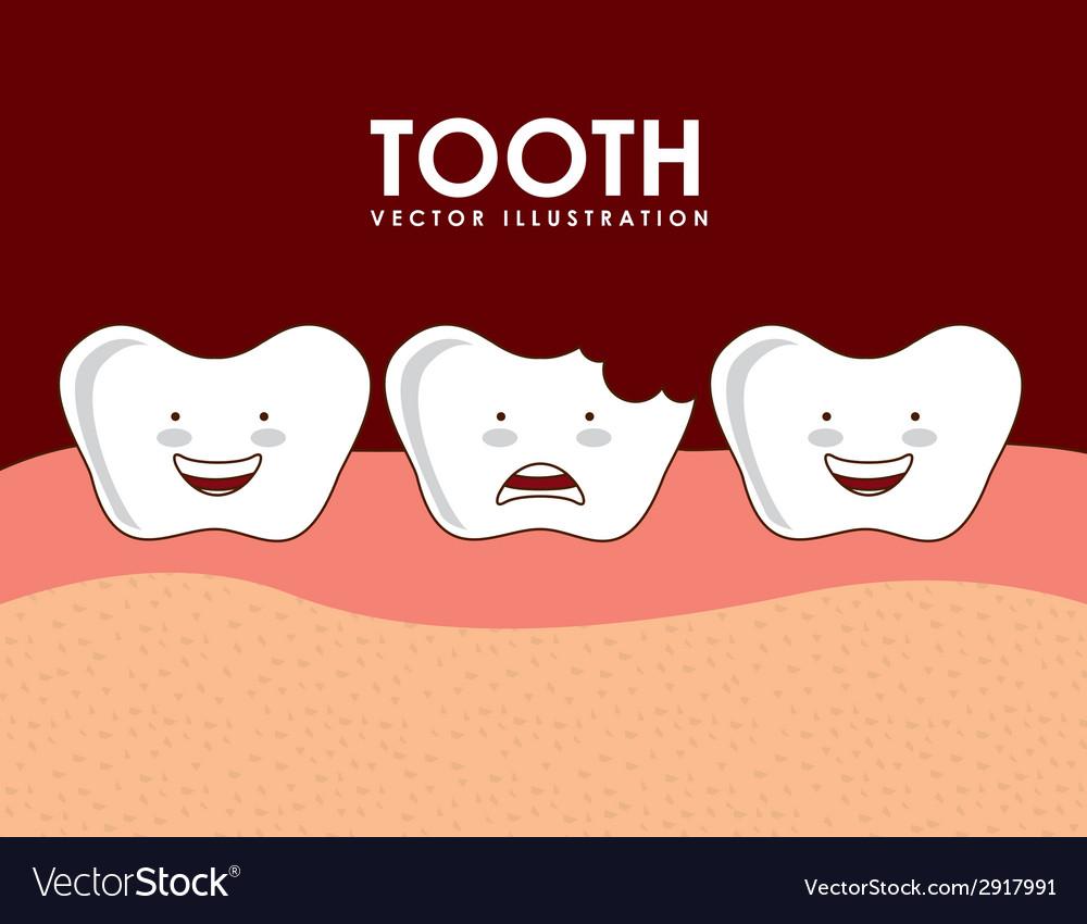 Dental design vector | Price: 1 Credit (USD $1)