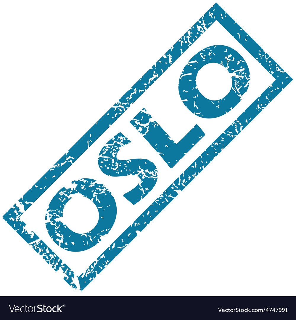 Oslo rubber stamp vector | Price: 1 Credit (USD $1)