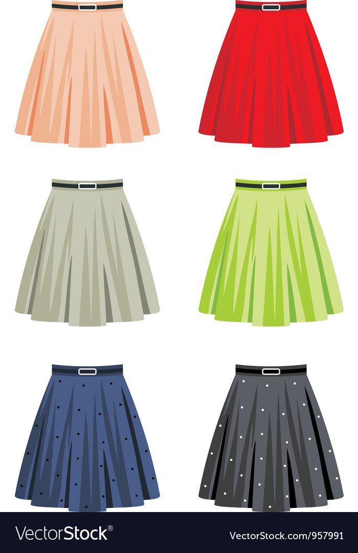 Skirts vector | Price: 1 Credit (USD $1)
