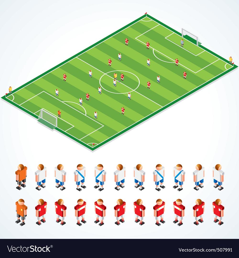 Soccer tactics kit vector | Price: 1 Credit (USD $1)