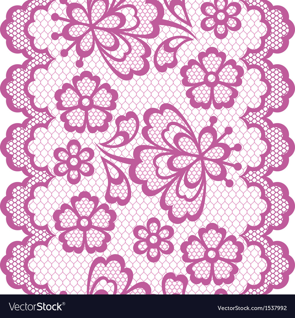 Old lace border abstract ornament texture vector   Price: 1 Credit (USD $1)