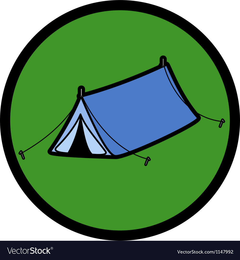 Pop up tent vector | Price: 1 Credit (USD $1)
