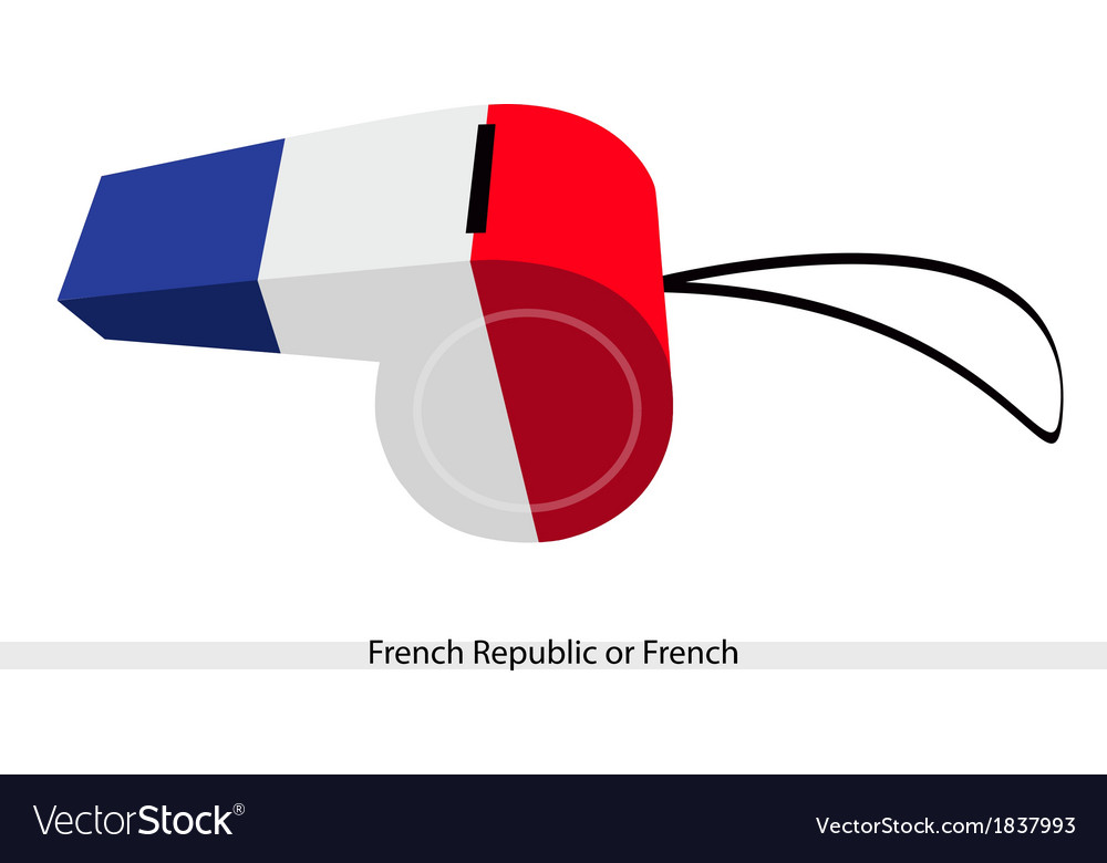 A beautiful whistle of the french republic vector | Price: 1 Credit (USD $1)