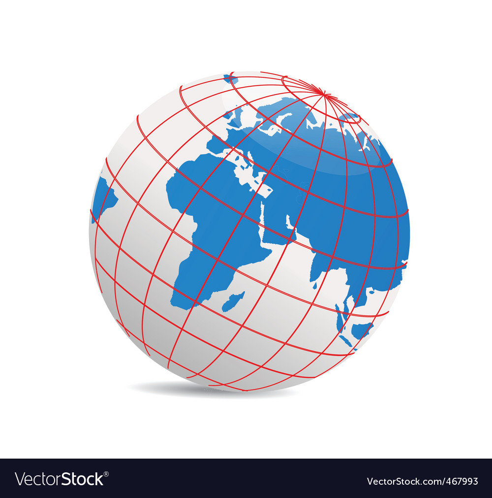 Geography world vector | Price: 1 Credit (USD $1)