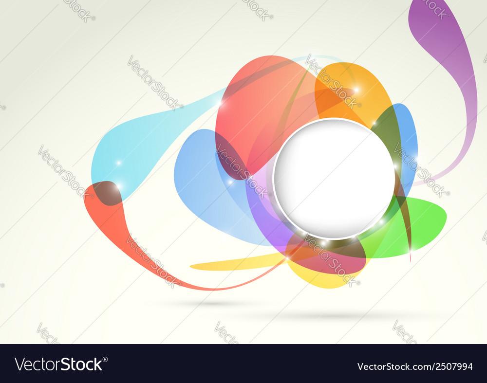 Bright transparent colorful design element vector | Price: 1 Credit (USD $1)