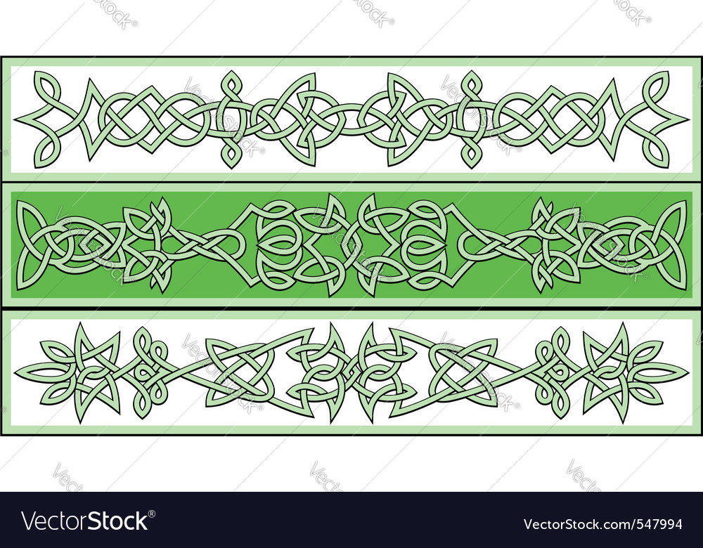 Celtic patterns vector | Price: 1 Credit (USD $1)