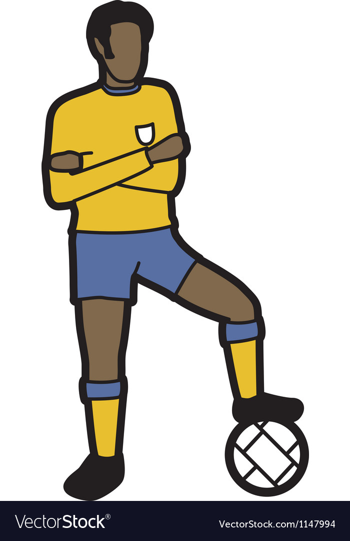 Footballer vector   Price: 1 Credit (USD $1)