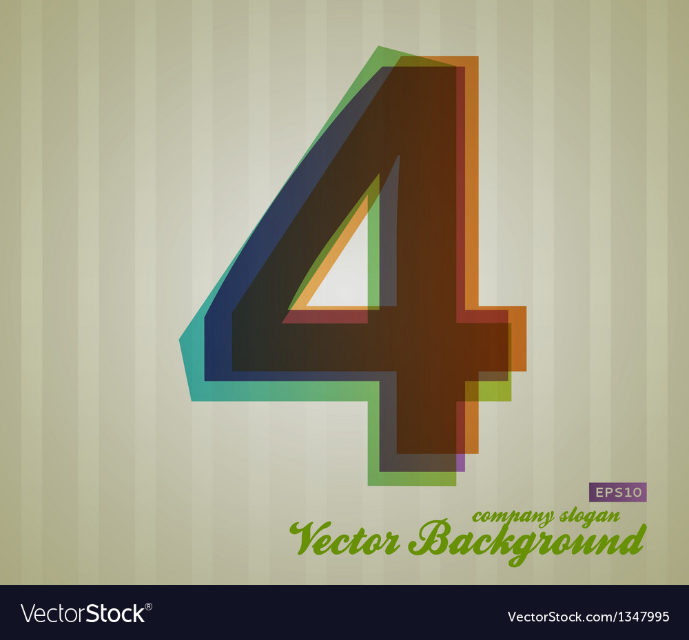 Color transparency symbol 4 vector | Price: 1 Credit (USD $1)