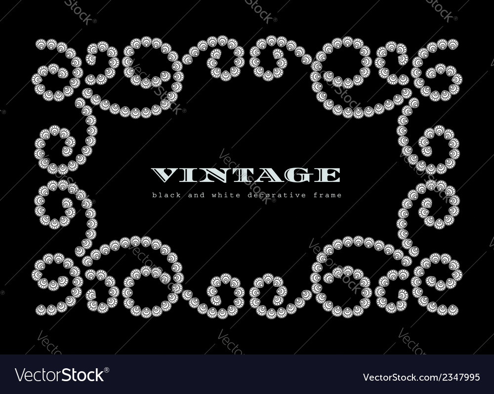 Dotted jewelry frame vector | Price: 1 Credit (USD $1)