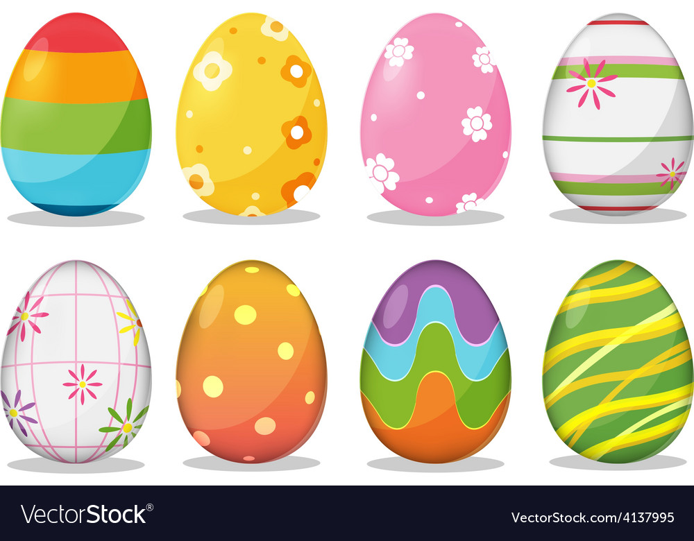 Easter egg festival holiday vector | Price: 3 Credit (USD $3)