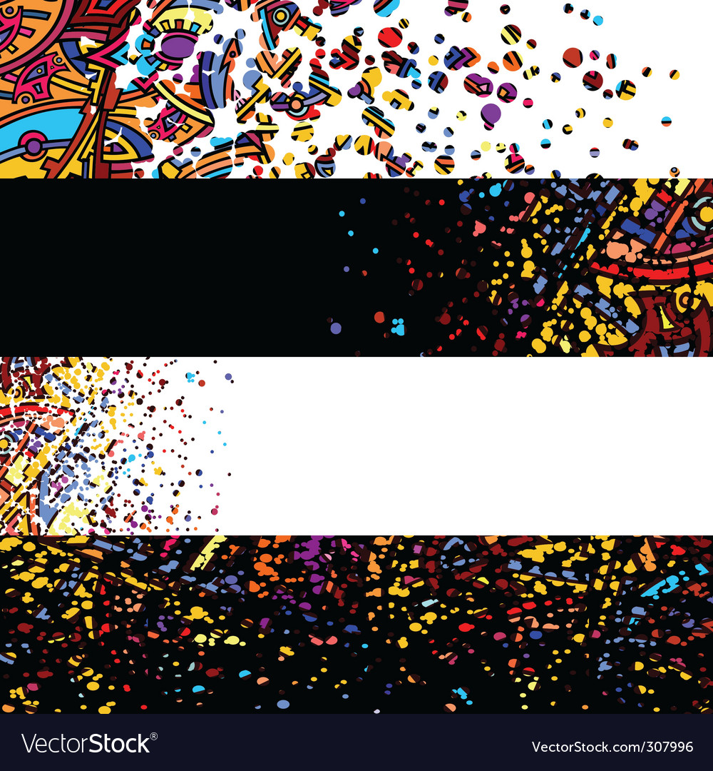 Banner abstract vector | Price: 1 Credit (USD $1)