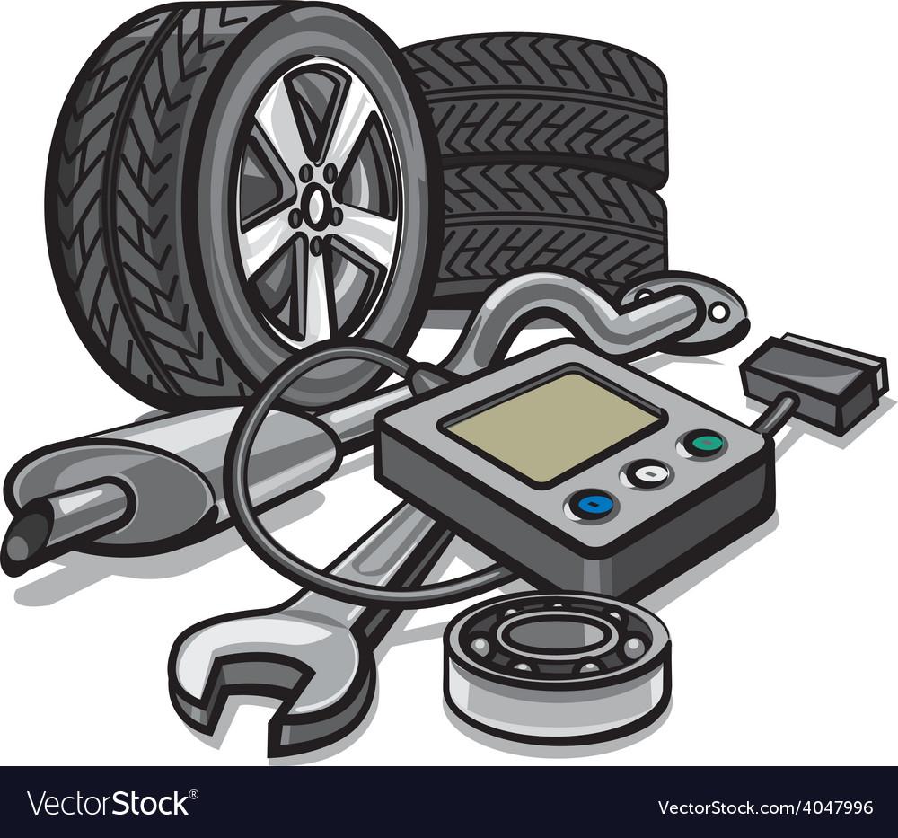 Car service vector | Price: 3 Credit (USD $3)