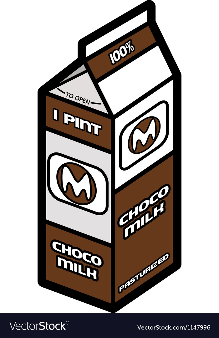 Chocolate milk vector | Price: 1 Credit (USD $1)