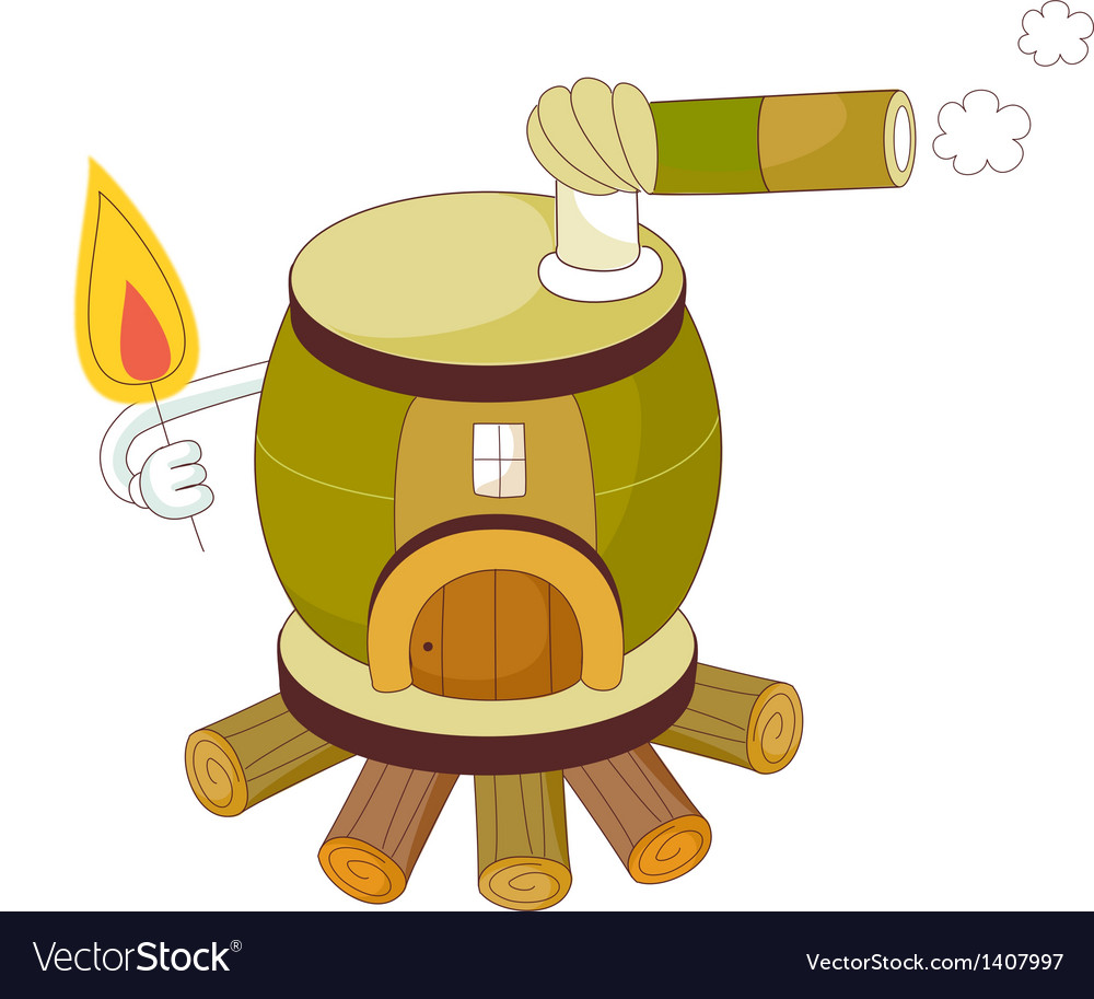 A view of stove vector | Price: 1 Credit (USD $1)