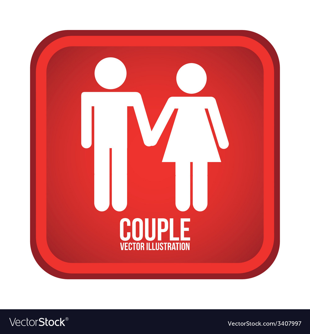 Couple design vector | Price: 1 Credit (USD $1)