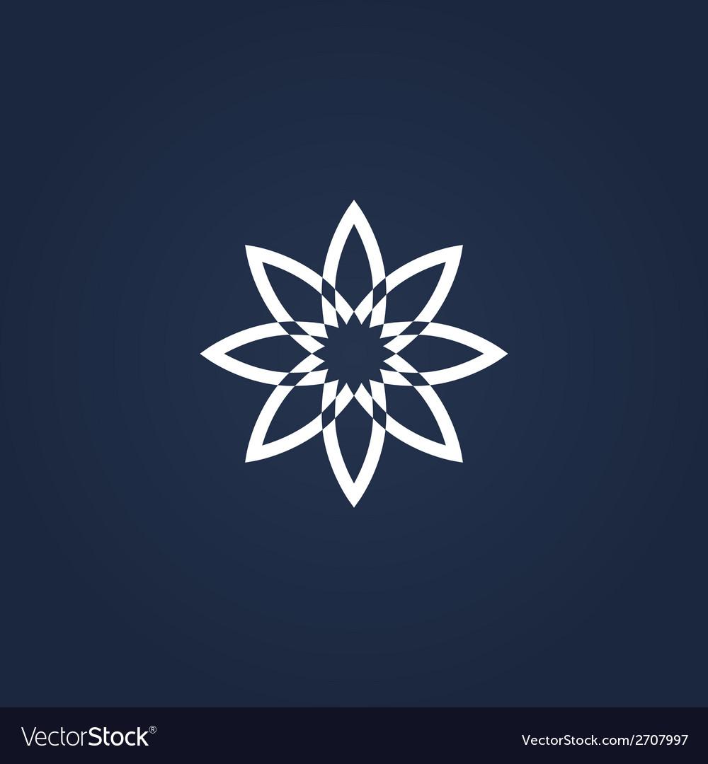 Flower symbol vector   Price: 1 Credit (USD $1)