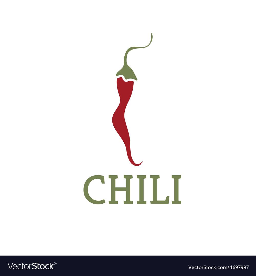 Hot chili pepper design template vector | Price: 1 Credit (USD $1)