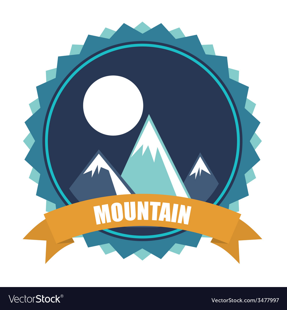 Mountain design vector | Price: 1 Credit (USD $1)