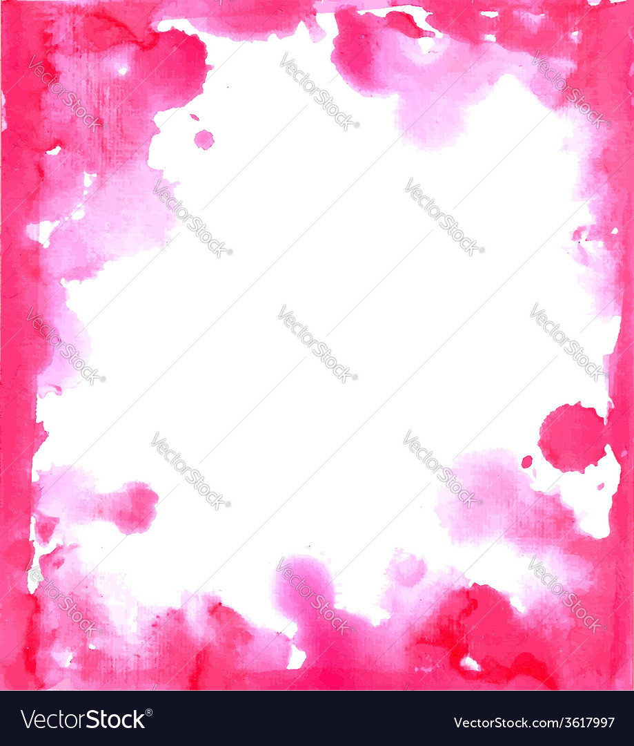 Pink paint grunge frame vector | Price: 1 Credit (USD $1)