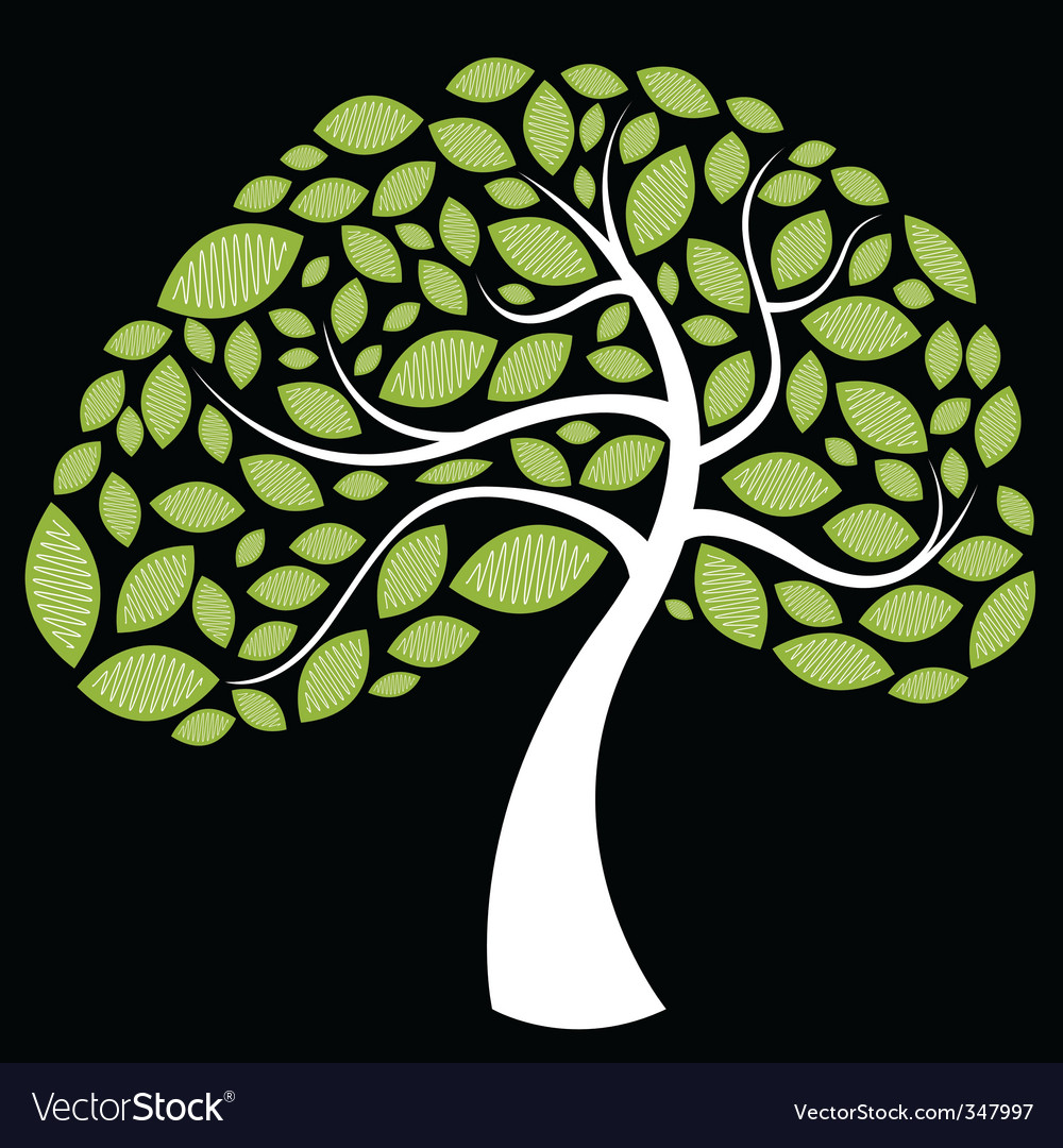Tree leaves vector | Price: 1 Credit (USD $1)