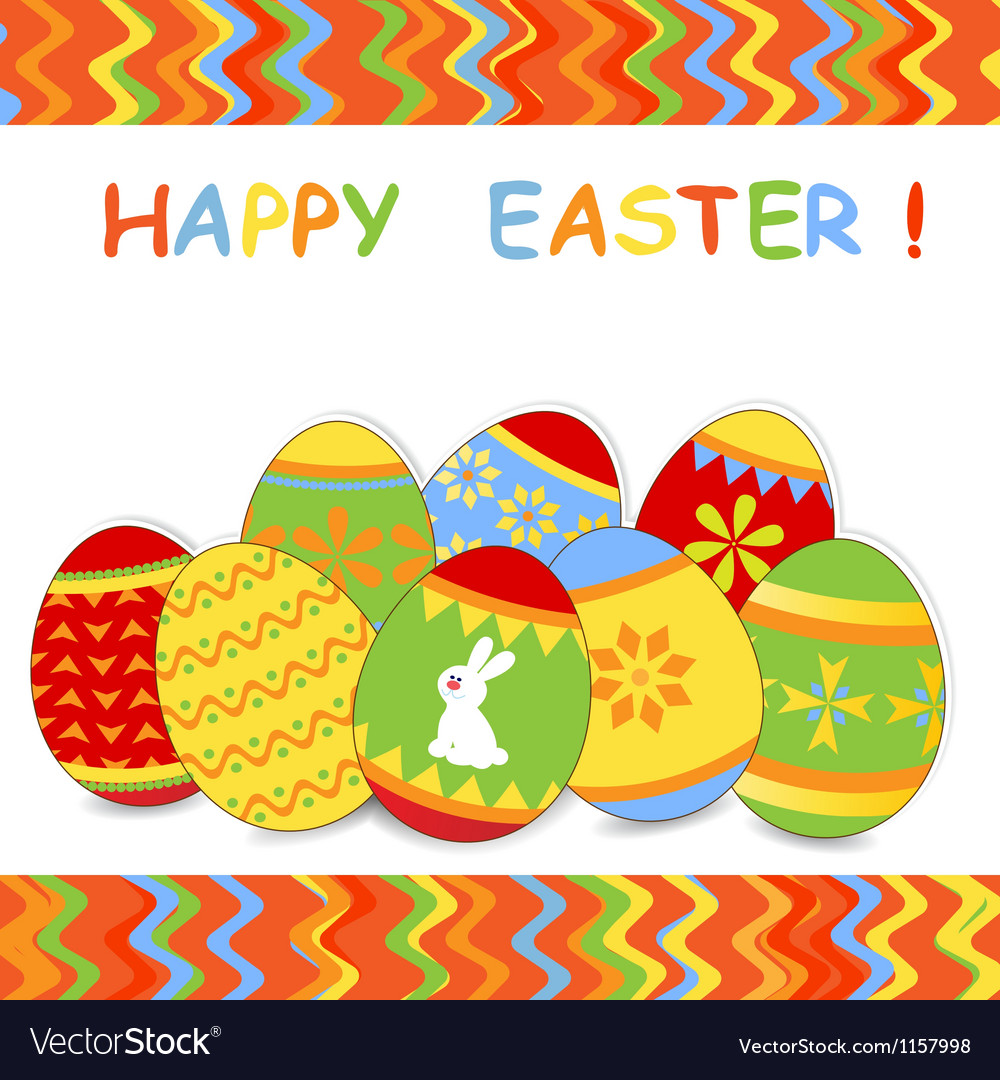 Easter card 5 vector | Price: 1 Credit (USD $1)