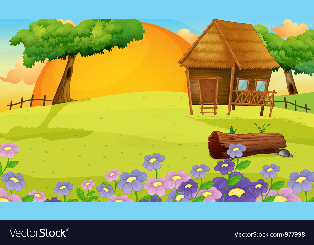 Farm house vector | Price: 3 Credit (USD $3)
