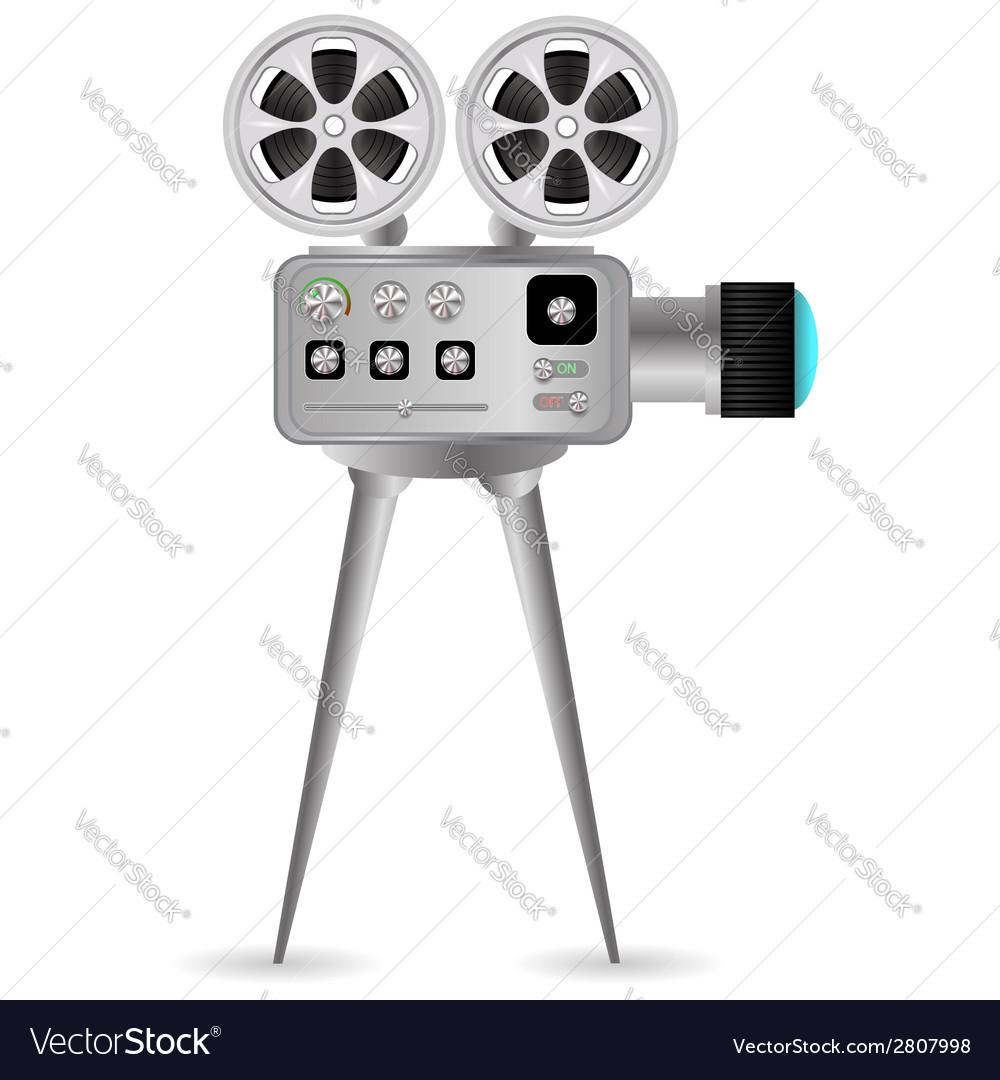 Movie projector vector | Price: 1 Credit (USD $1)