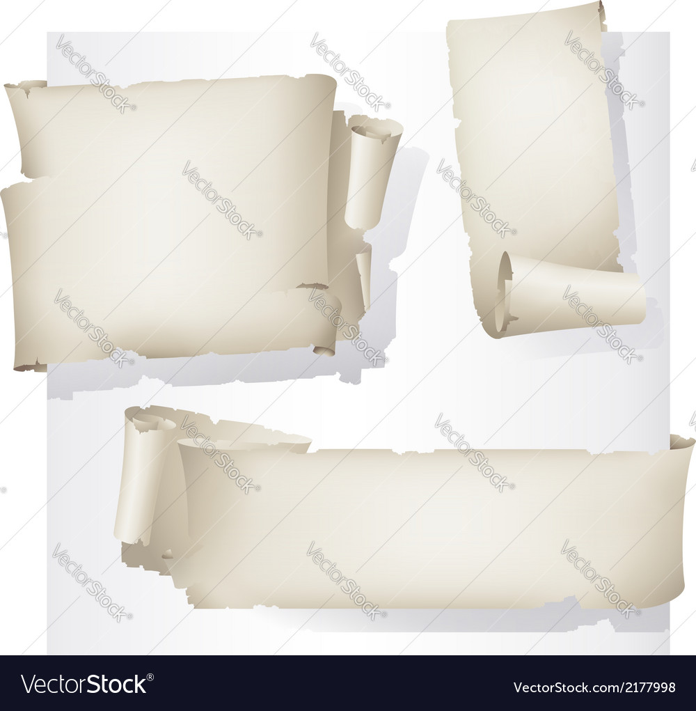Old paper stickers vector | Price: 1 Credit (USD $1)