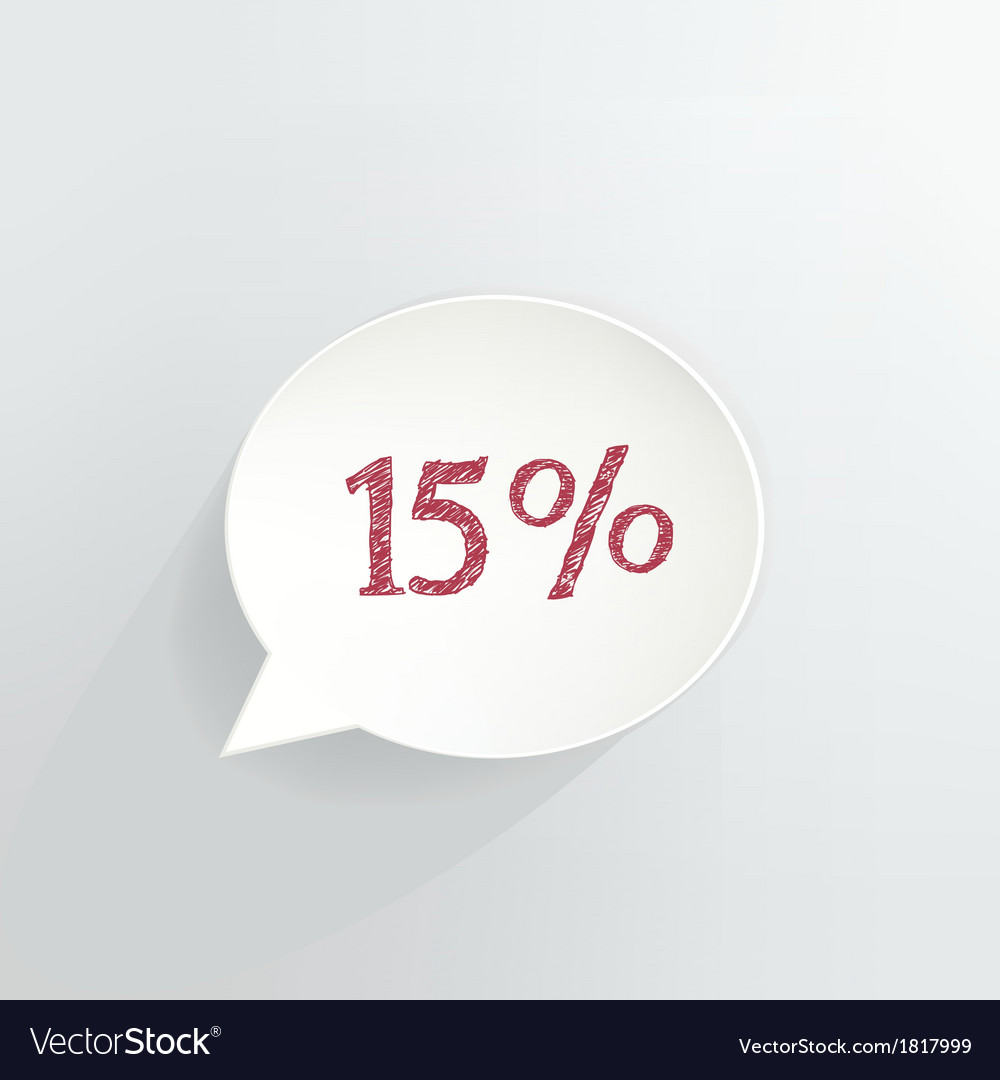 15 off vector | Price: 1 Credit (USD $1)