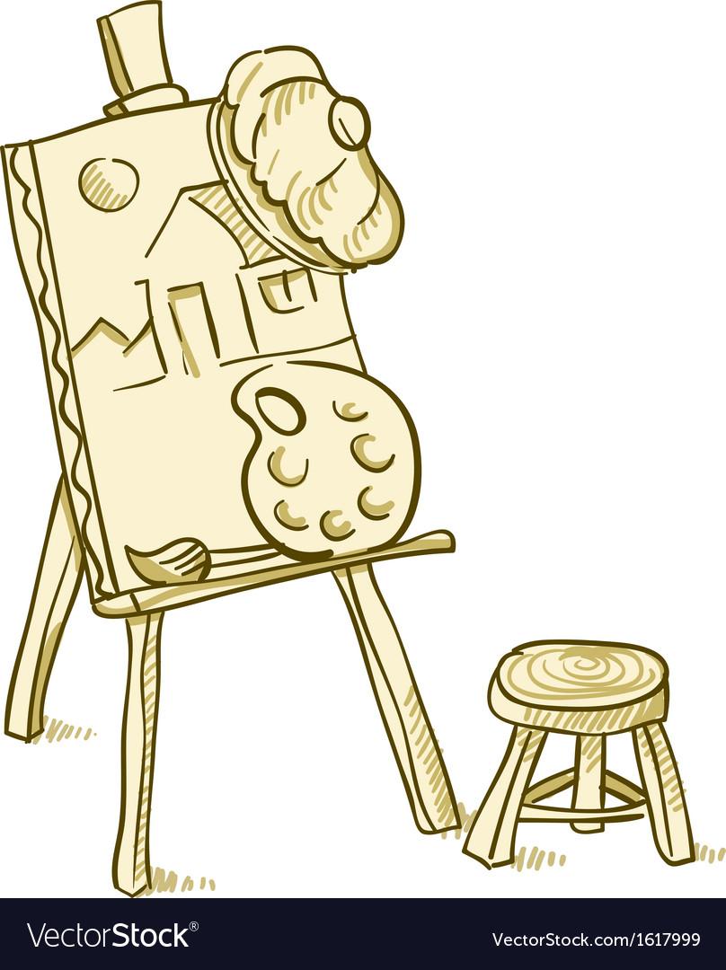 Art board vector | Price: 1 Credit (USD $1)