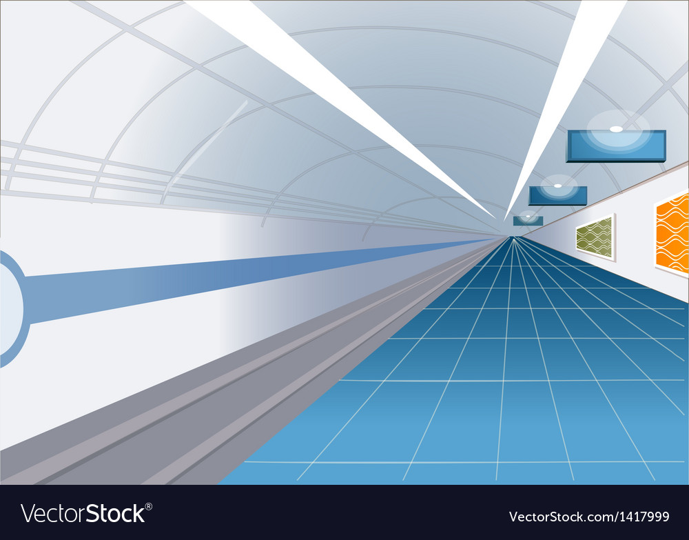 Metro station vector | Price: 1 Credit (USD $1)