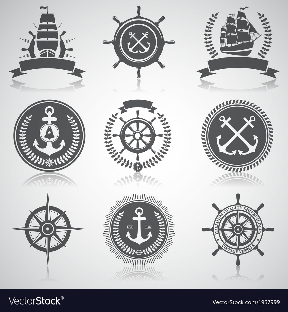 Nautical set 5 vector | Price: 1 Credit (USD $1)