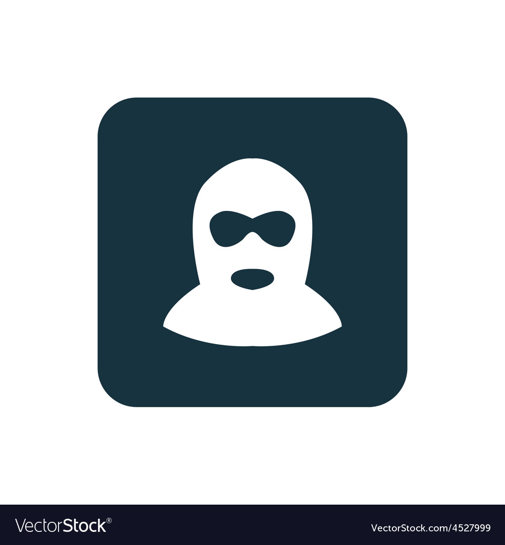 Offender icon rounded squares button vector | Price: 1 Credit (USD $1)