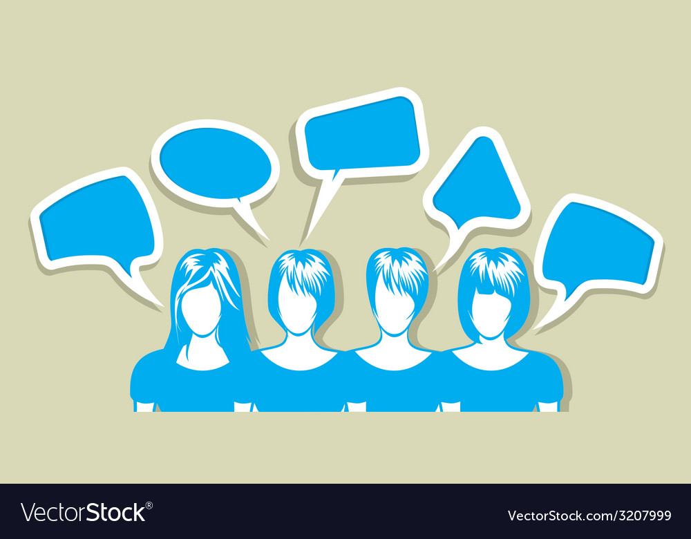 Social network sa ljudima3 vector | Price: 1 Credit (USD $1)