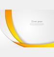 Abstract corporate wavy backdrop vector