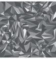 Grey triangle background vector