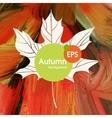 Magic autumn background vector