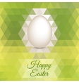 Easter egg mosaic background vector