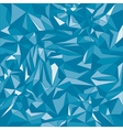 Blue triangle background vector