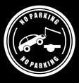 Parking design vector