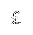 Currency - pound vector