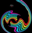 Colorful abstract technology background vector