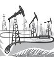 Oil bw vector