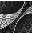 Black and silver background vector