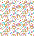 Abstract seamless color mosaic texture vector