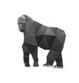 Gorilla triangle vector