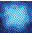 Abstract blue halftone background vector