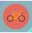 Bicycle icon - vector