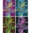 Seamless pattern beautiful paisley decorative vector